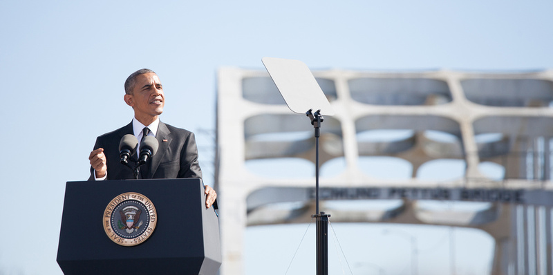 President Barack Obama at the 50th Anniversary of the Selma to Montgomery Marches