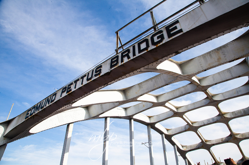 Jubilee March Across the Edmund Pettus Bridge